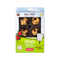 Beau & Belle Cupcake Cranberry