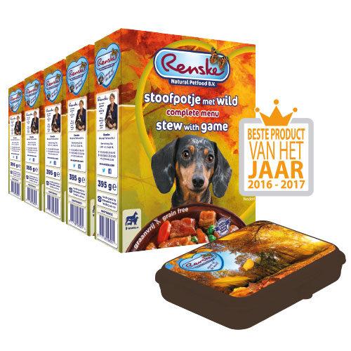 Beestengeluk Voordeel Pakket Renske - Stoofpotje met Wild - Hond