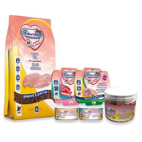 Beestengeluk Voordeel - Renske Variatie Pakket - Kat