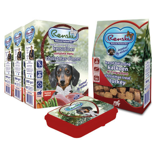 Beestengeluk Voordeel Pakket Renske- Kerstdiner - Hond