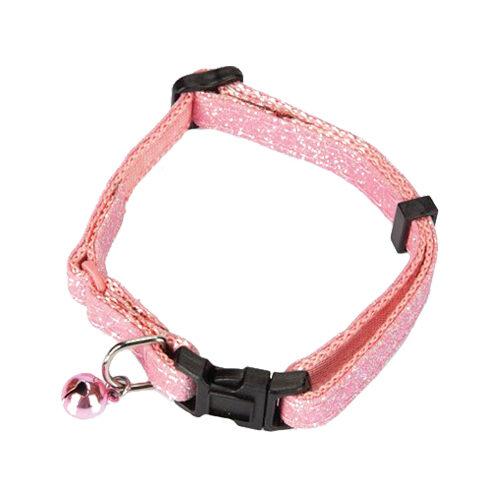 Beeztees Glitter Roze Kattenhalsband