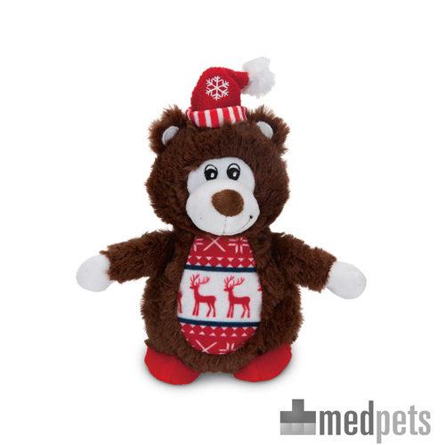 Product afbeelding van Beeztees Pluche Kerstbeer