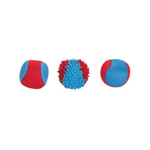 Beeztees Splashbal - Blauw / Rood