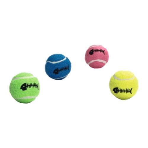 Beeztees Tennisball mit Glöckchen