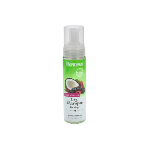 TropiClean - Deep Cleaning Dry Shampoo for Dogs