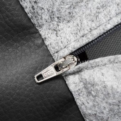 Bia Couverture noire en simili cuir