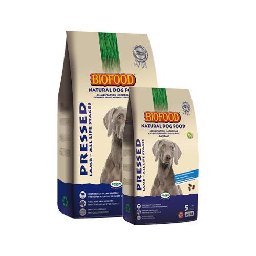 Biofood gepresstes Hundefutter Lamm