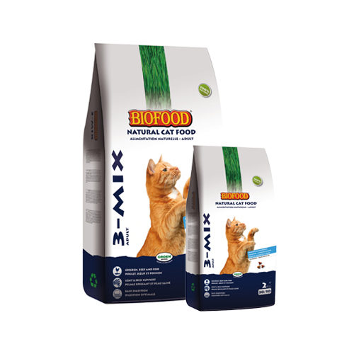 Biofood 3-Mix Cat Food