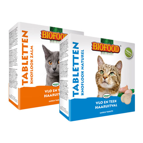 Biofood Cat Garlic Tablets