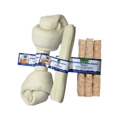 Biofood Kauwkluif Rawhide Dental