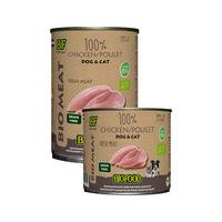 Biofood Organic 100% Huhn - Hund & Katze