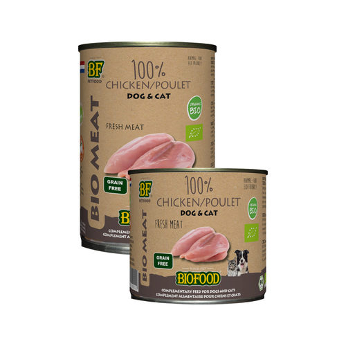 Biofood Organic 100% Chicken - Cats & Dogs