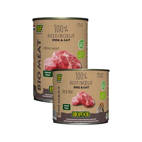 Biofood Organic 100% Rund - Hond & Kat