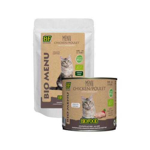 Biofood Organic Menu Huhn - Katze