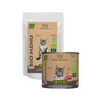 Biofood Organic Menu Beef - Cat