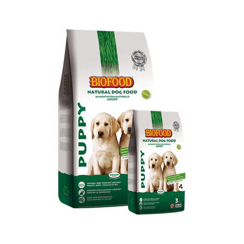 Biofood für Puppys