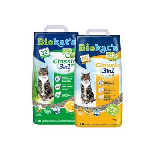 Biokat's Classic (Fresh) 3in1 - Litière pour Chat