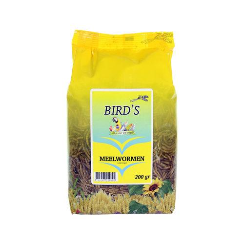 Bird's Meelwormen Vogelvoer