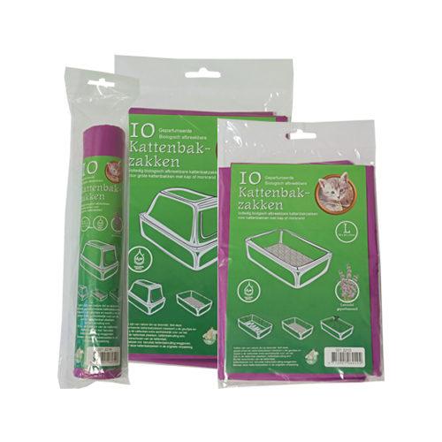 Boon Bio-Katzentoilettensäcke Lavendel