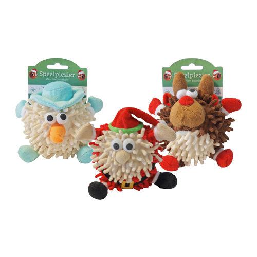 Boon Plush Christmas Dog Toy Ball