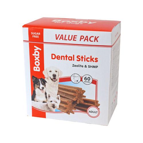 Boxby Dental Sticks - Bâtonnets à Mâcher pour Chien