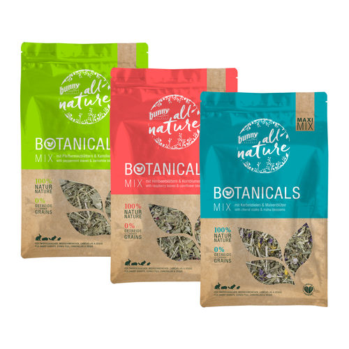 Bunny Nature All Nature Maxi Mix Botanicals