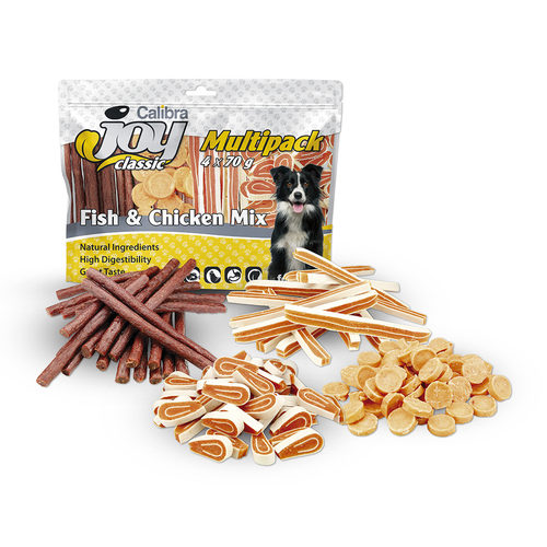 Calibra Joy Dog Multipack Fish & Chicken Mix
