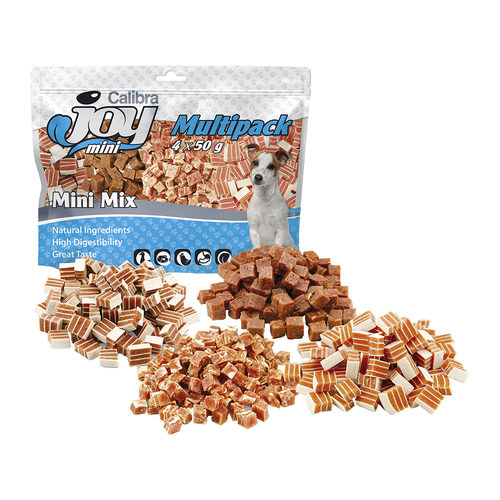 Calibra Joy Multipack Mini Mix - Mini-Friandises pour Chien