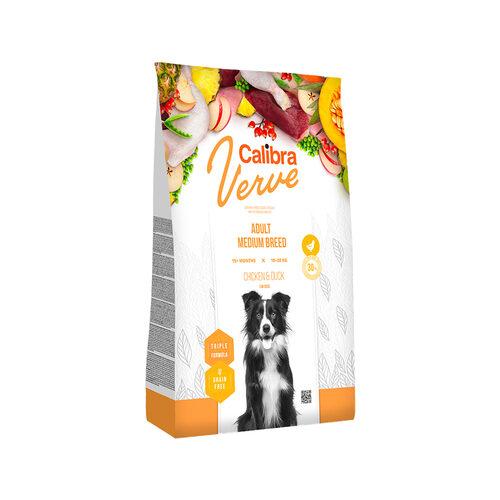 Calibra Verve Graanvrij Adult Medium Hondenvoer - Kip en Eend