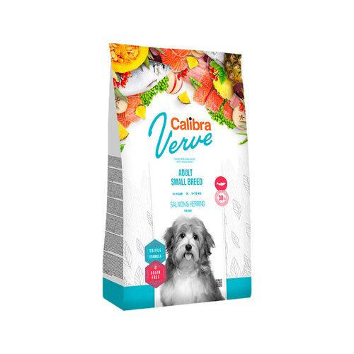 Calibra Verve Graanvrij Adult Small Hondenvoer - Zalm en Haring