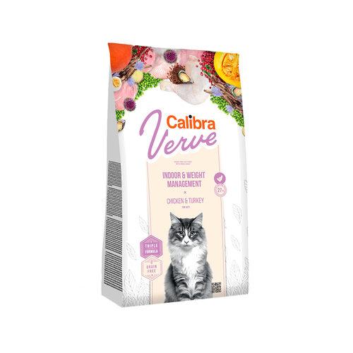 Calibra Verve Graanvrij Indoor en Weight Kattenvoer - Kip