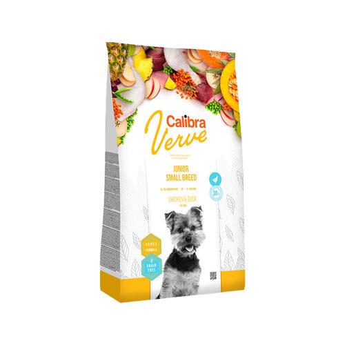 Calibra Verve Graanvrij Junior Small Hondenvoer - Kip en Eend