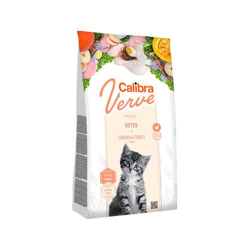 Calibra Verve Graanvrij Kittenvoer - Kip en Kalkoen