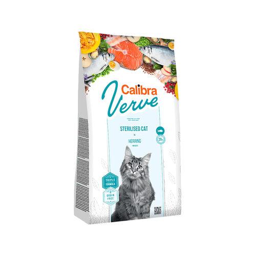 Calibra Verve Graanvrij Sterilised Kattenvoer - Haring