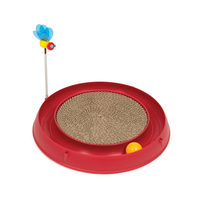 Catit Play Ball Toy with Scratch Pad