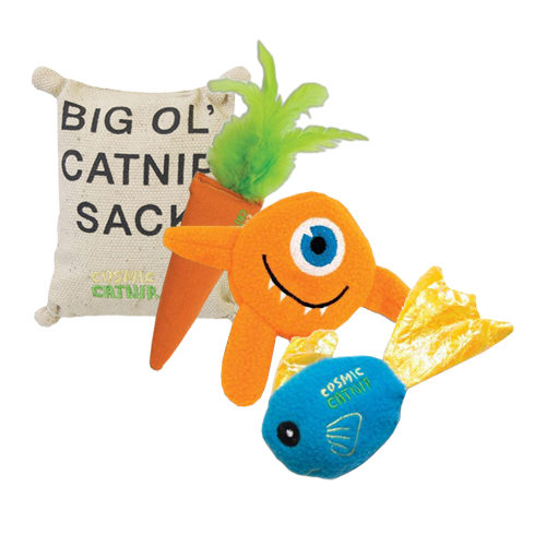 Cosmic Catnip Toys