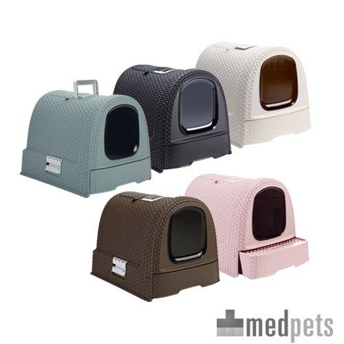 maison de toilette curver petlife chats. Black Bedroom Furniture Sets. Home Design Ideas