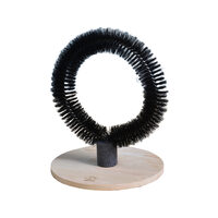 D&D Mila Massageborstel - Zwart