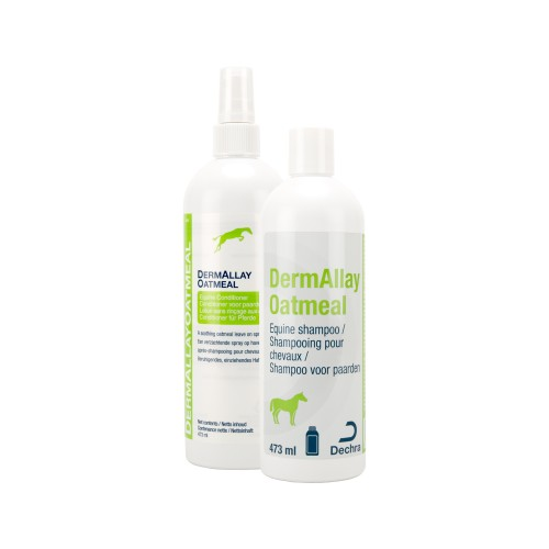 DermAllay Oatmeal Equine shampoo en conditioner