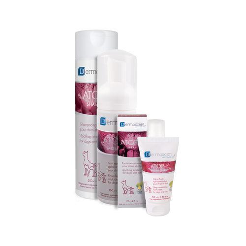 Dermoscent Atop 7 Shampoo und Spray