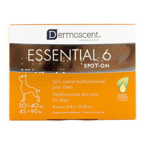 Essential Pour On Cutané Dermoscent Spot Chat 6 Chienamp; Soin XilkOZTPuw