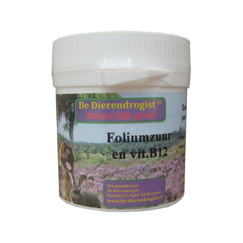 Dierdrogist Foliumzuur Vitamine B12