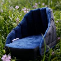 Dogrider Dog Seat Mand - Blauw