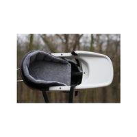 Dogrider Dog Seat Korb - Grau