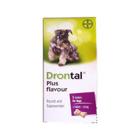 Drontal Plus Flavour Bone Shaped Tablets