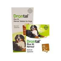 Drontal Plus XL Flavour Tablets for Dogs