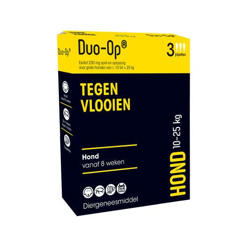 Duo-Op Tegen Vlooien Hond 10-25 kg