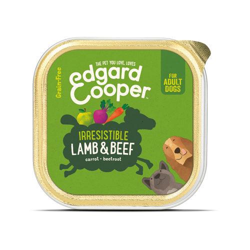 Edgard & Cooper Adult - Lamm & Rind - im Schälchen