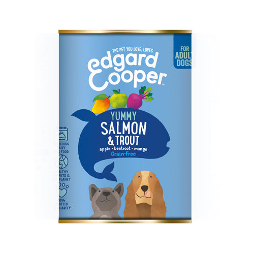 Edgard & Cooper Adult - Lachs & Forelle - in der Dose