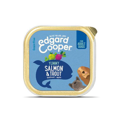 Edgard & Cooper Adult - Lachs & Forelle - im Schälchen